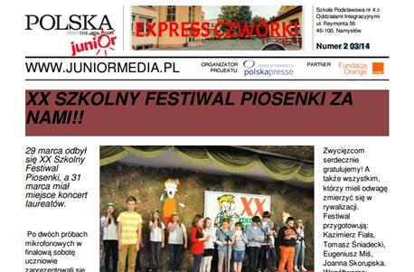 EXPRESS CZWÓRKI 2014
