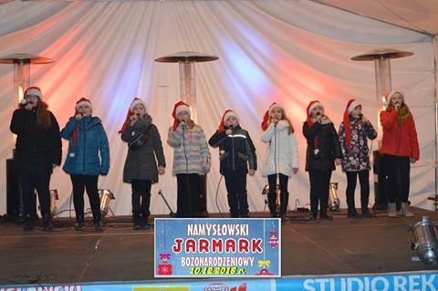 GAMA na Namysłowskim Jarmarku Bożonarodzeniowym
