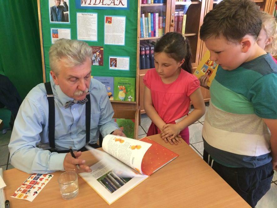 Spotkanie autorskie w Bibliotece Publicznej w Namysłowie