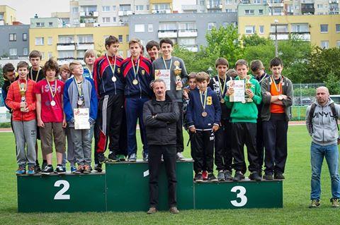 Mistrzostwa Województwa w czwórboju lekkoatletycznym 2015