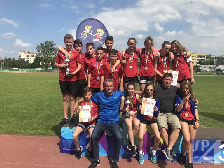 Srebrno-złote drużyny w czwórboju