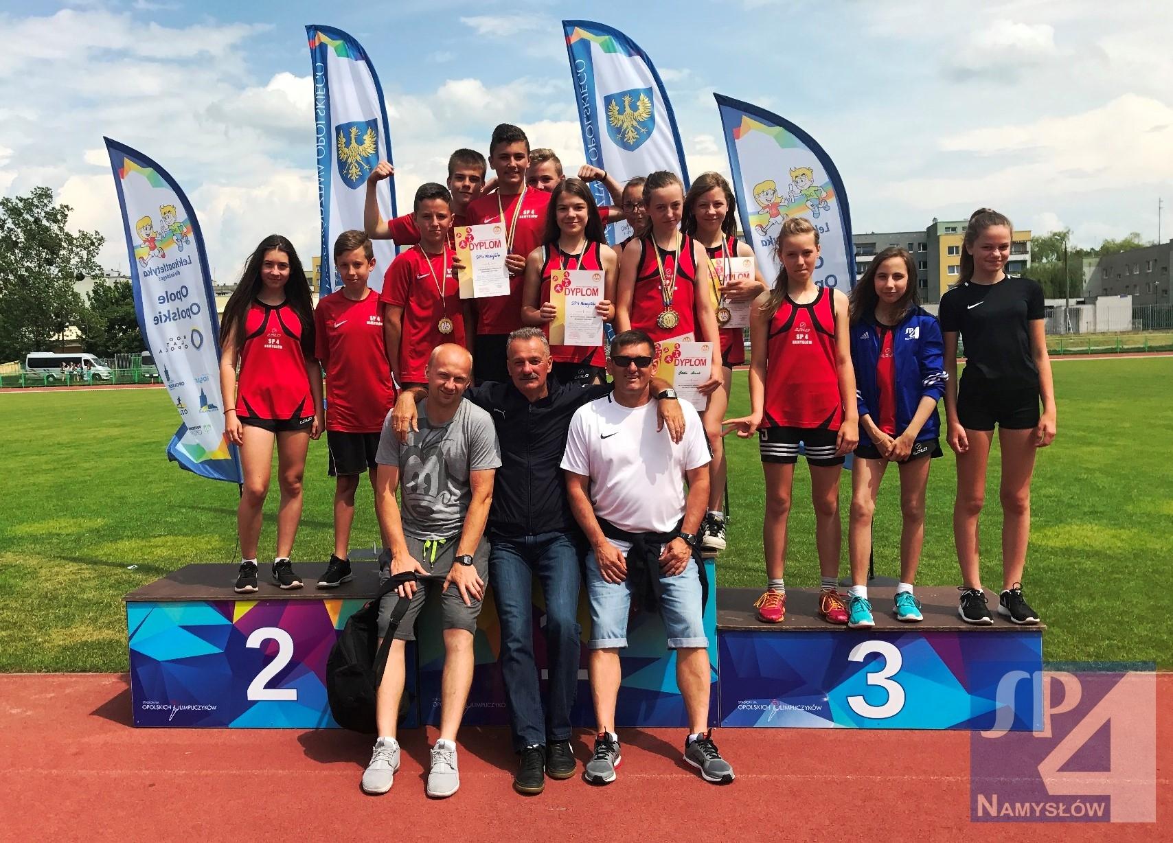 Sukces w Wojewódzkich Indywidualnych Mistrzostwach w LA  w Opolu