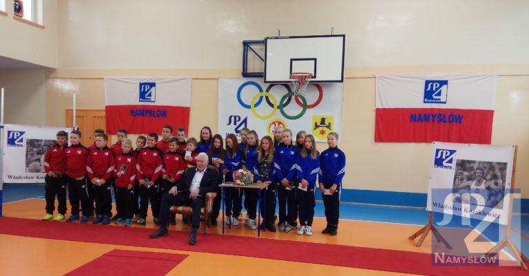 Władysław Kozakiewicz-mistrz olimpijski z Moskwy był naszym gościem