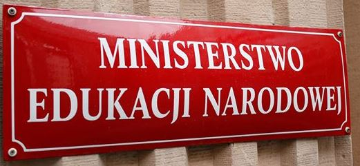 Komunikat Ministra Edukacji Narodowej