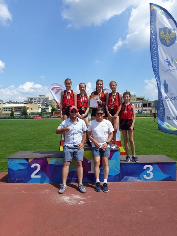 Kolejny sukces w Mistrzostwach Województwa w Lekkoatletyce