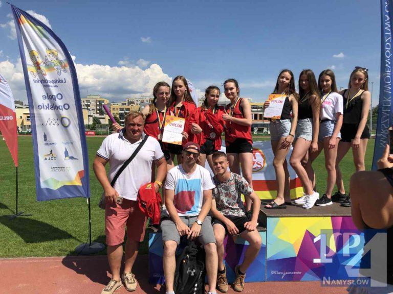 Doskonały wynik naszych lekkoatletów na Mistrzostwach Województwa opolskiego