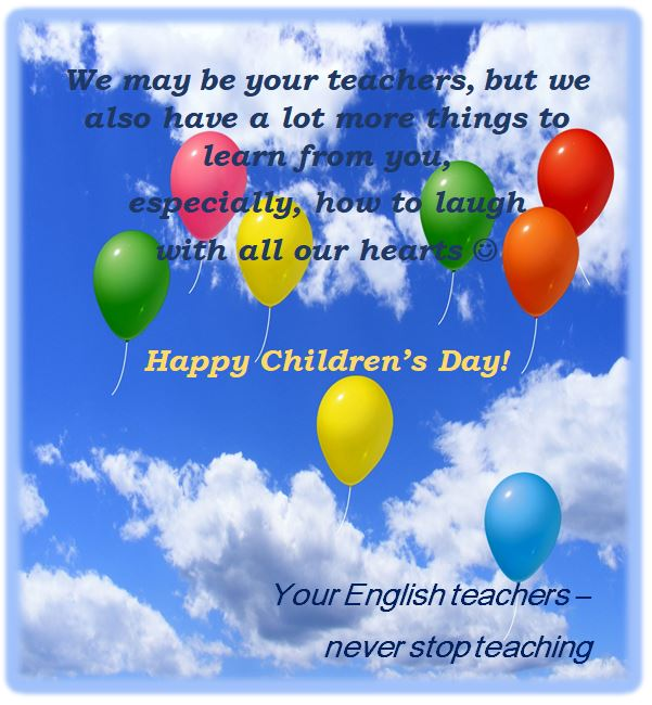 Happy Children's Day!