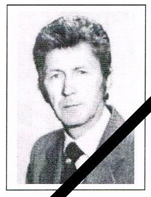 Zmarł Pan Tadeusz WÓJCICKI, wieloletni dyrektor naszej szkoły