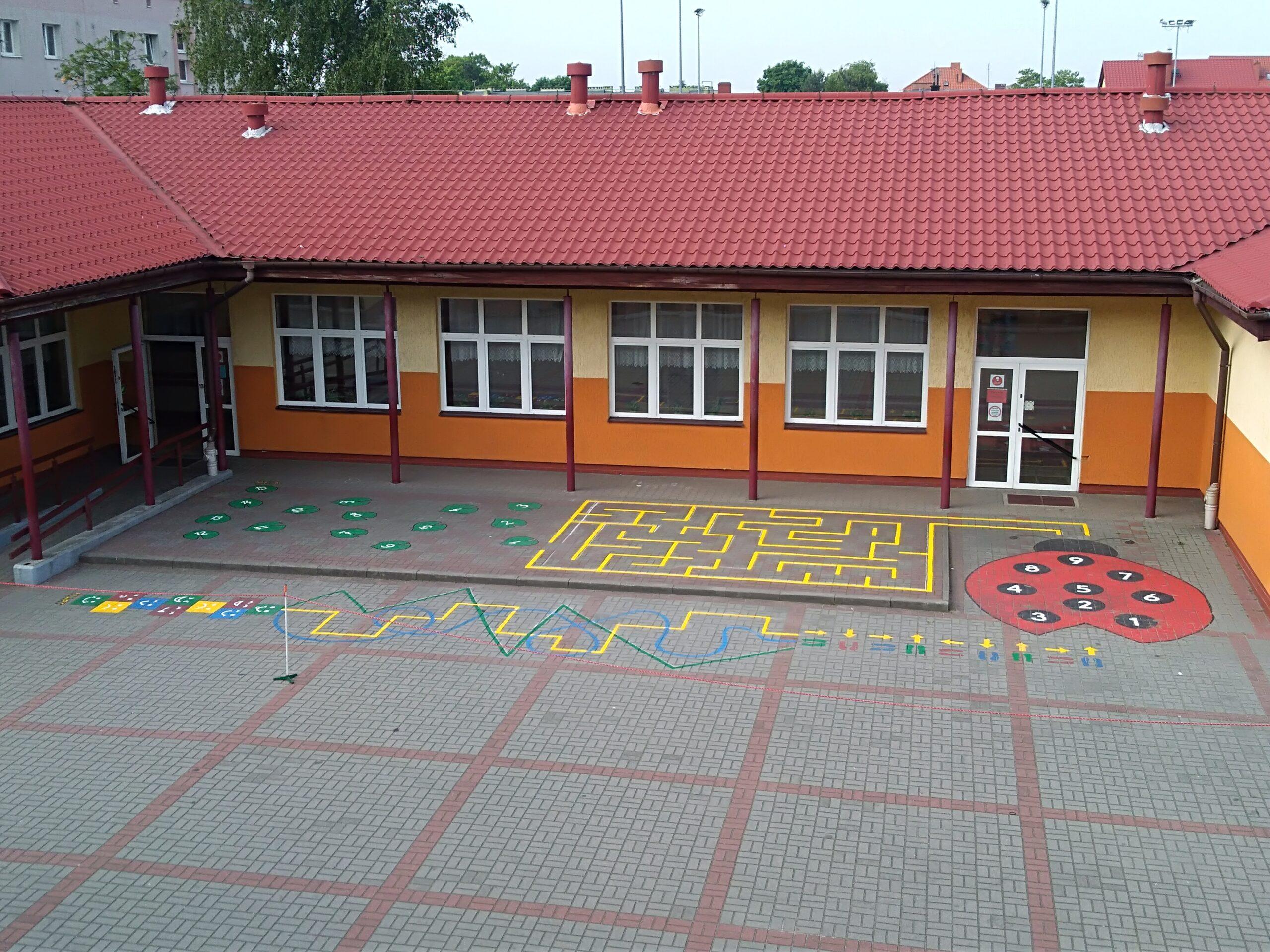 Kolorowe gry podłogowe