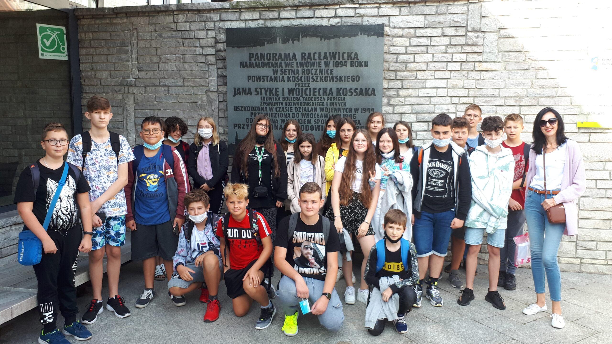 Wycieczka do Wrocławia klasy VII b